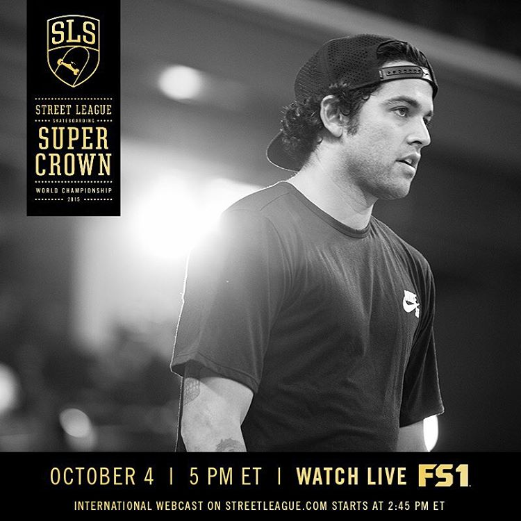 Tune in to the @streetleague Skateboarding webcast to watch @prod84 battle for the #SuperCrown title and the #SLS @NikeSB Super Crown World Championship #Nixon 51-30 watch. #NixonNow #SLSWorldTour #StreetLeague