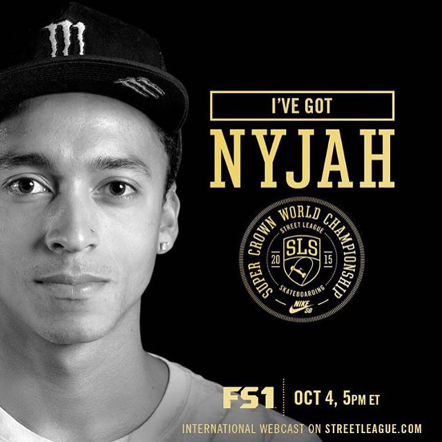One more day until our dude @nyjah competes in the @streetleague Super Crown World Championship! We've got our money on him! #GONYJAH