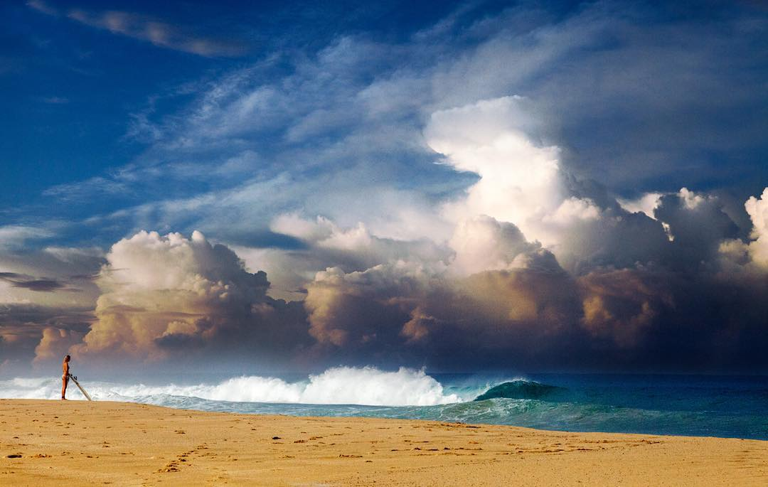 Storms bring the swell #ROXYsurf  roxy.com/surf