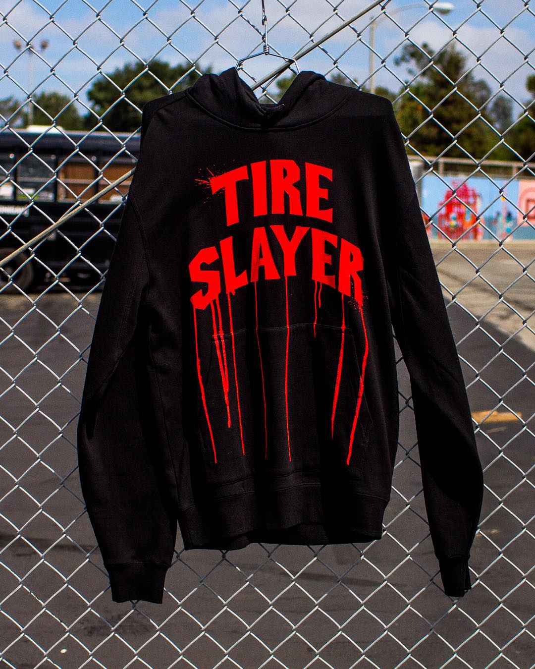 #TireSlayerAppreciateWeek may be coming to an end but the Tire Slayer pull over hoodie will still be available on #hooniganDOTcom. Tag your appreciation and maybe it will end up on our page! #burniesforever