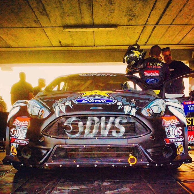 #GOODLuck to #TheGeneral @BrianDeegan38 today in #Barbados for @RedBullGRC