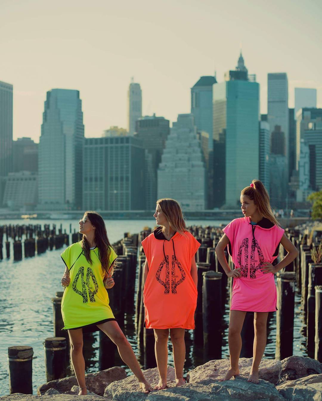 Wherever you go, take your dreams ! °•○●Make it easy●○•° #nyc #girls #rule #surf #beach #spring #color #clothes #pink #orange #yellow #city #sports #palapapa #session #collection