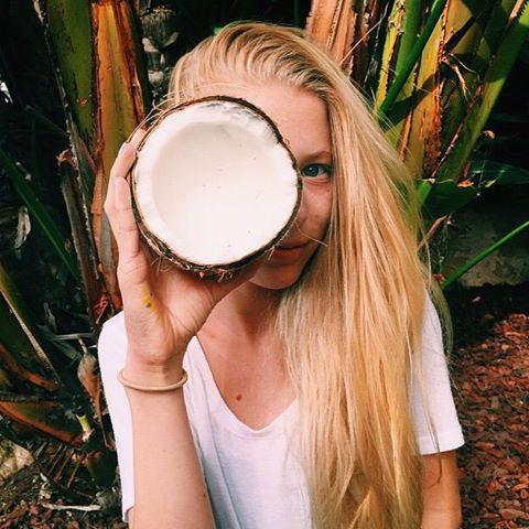 TROPICAL // @avabivins #luvsurf #luvsurfgirl #lifestyle #coconut #islandvibes