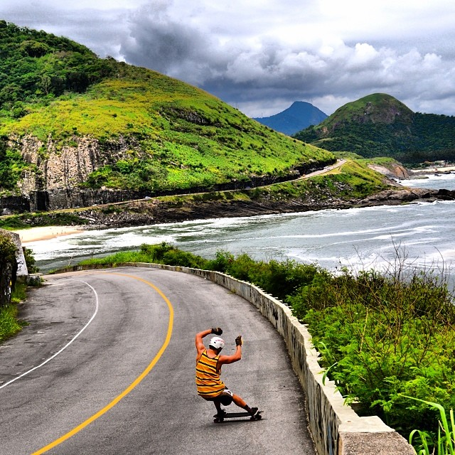 @danielfissmer shredding it up in Brazil.