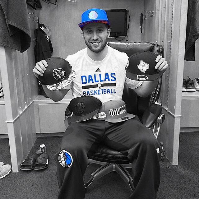 Check out @jjbarea11 rocking the @dallasmavs hat ... visit @mavshangar to get yours!! #MFFL