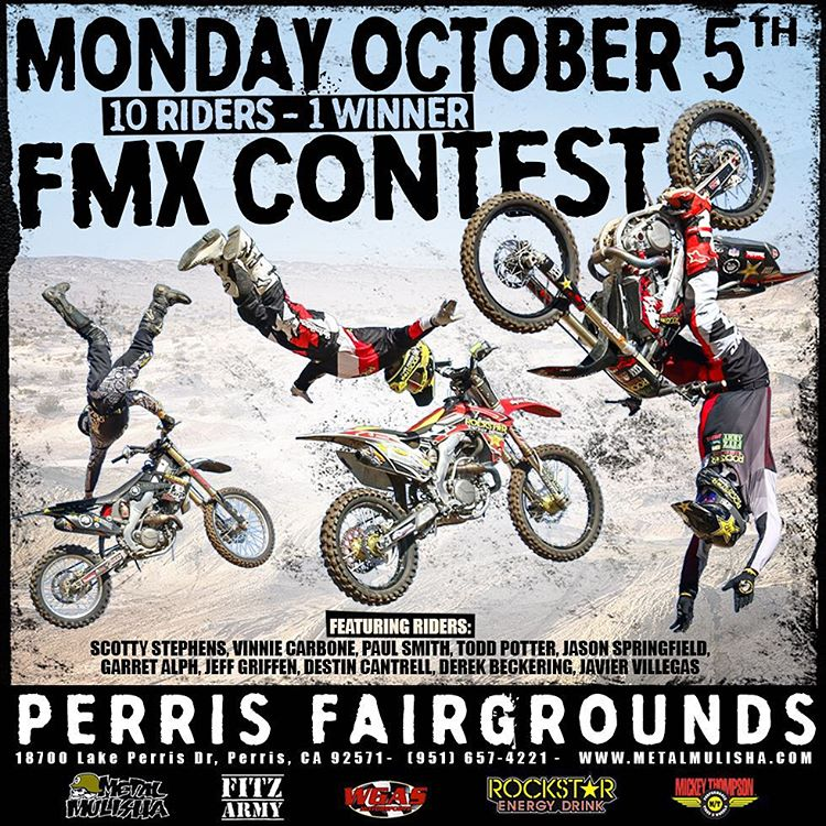 If your in the #SoCal area today, stop by #PERRIS Fairgrounds to watch the boys #ThrowDown