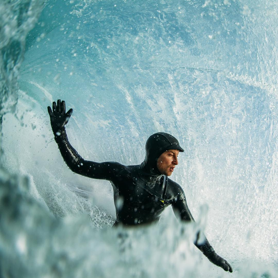 High fives for winter barrels!  #allthingswater #bodyglove www.bodyglove.com