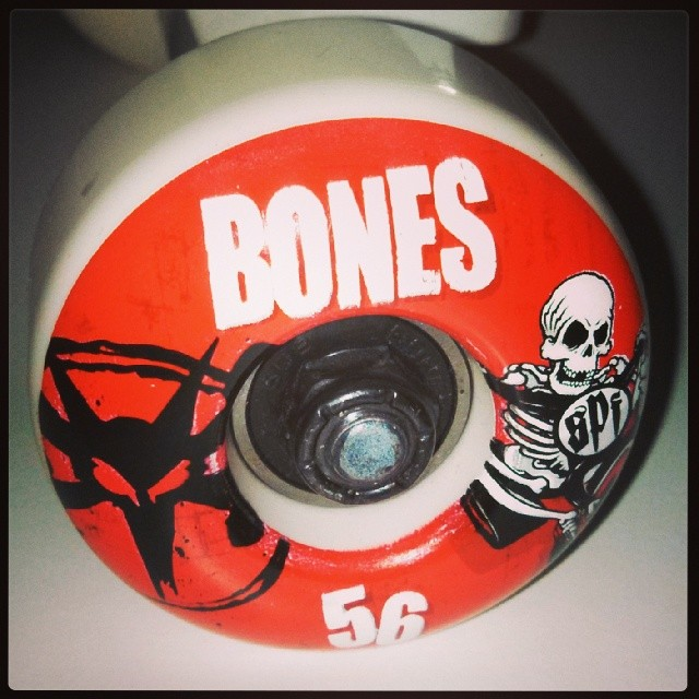 Thank you Bones Wheels for sponsoring GRO NYC Tomboi event March 1st at Skate Brooklyn. This is just one of the great raffle prizes you can win at the event. See you Saturday