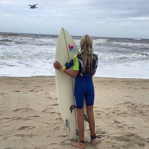 I SEA you #luvsurf #luvsurfgirl @tybeeanna #surf #sessions