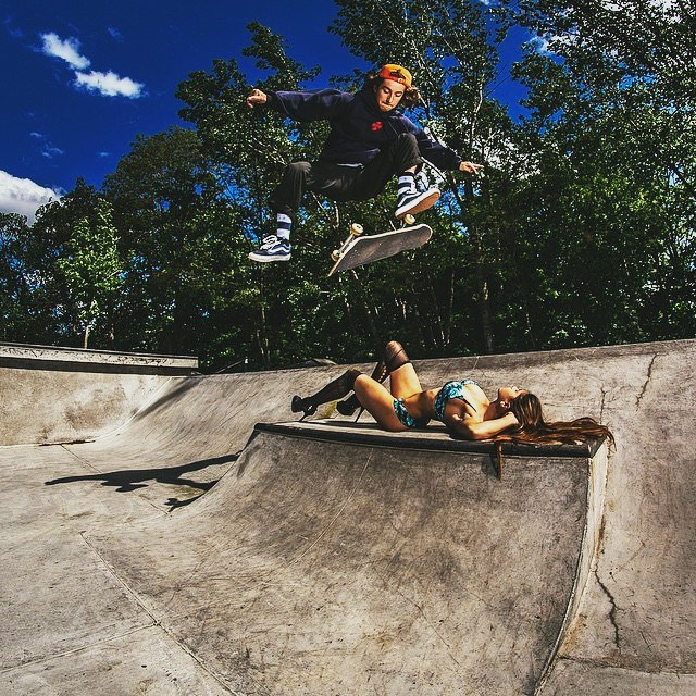 Advocate @young__mark stomped it with room to go. || #skateboard #thesweetlife #doepicshit photo @nicola_visuals