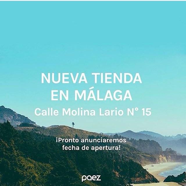 Hey amigos! Tenemos casa nueva en Málaga! Muy pronto les diremos por donde pueden venir a vernos.  #Paez  #PaezMalaga #calorcito