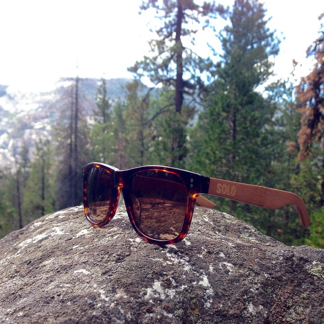 The Fiji frame at Yosemite!  #soloeyewear