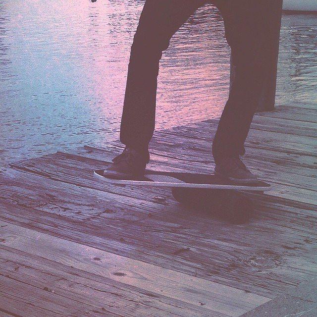 Dockside balance session #revbalance #findyourbalance #balanceboards #madeinusa