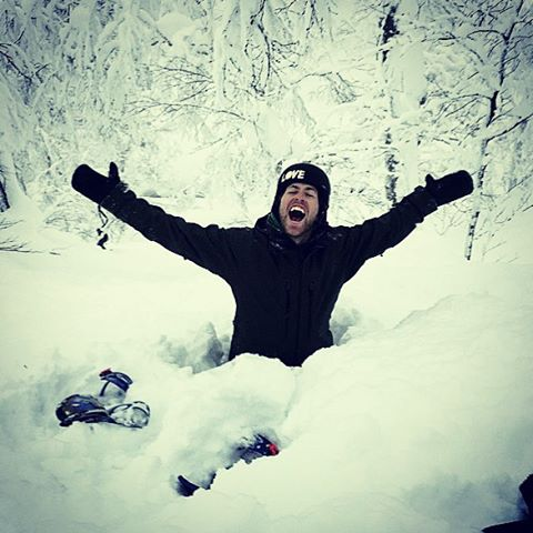 We feel the same way as @kevinpearce when we're up on the mountain