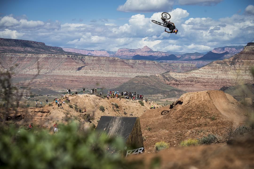 Building has begun for the 10th Edition of Red Bull #Rampage. Click the link in our bio for more.