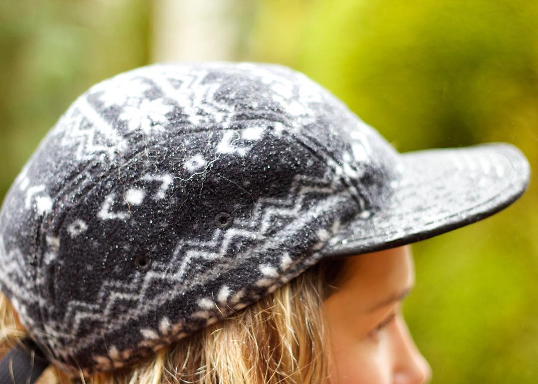 The Canyon 5 panel is made of fleece and has a Nordic print making it great for cooler weather. Available now as part of our #FW15 collection! #coalheadwear