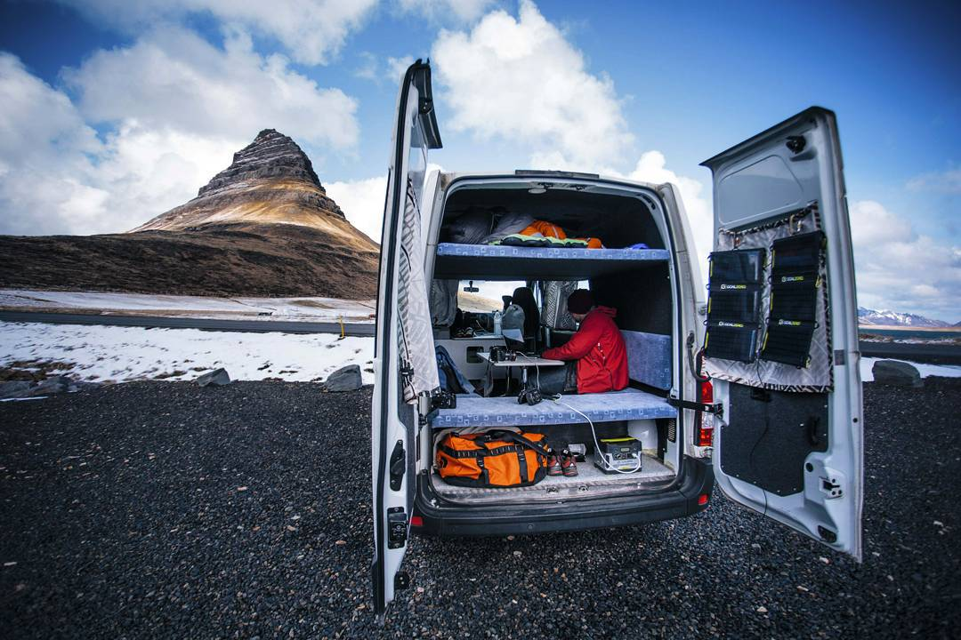 With portable power, your office can be anywhere. Find someplace new tomorrow, get out of the routine and get a fresh perspective. The days of needing to be in the same cubicle everyday of the week are over. #officeanywhere  Photo: @johndalephoto