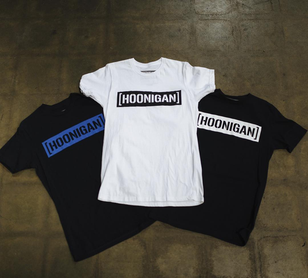 The classic C-bar tee. It, along with other #HNGN gear, can be found at your local @zumiez, @tillys and other rad retailers. Check #hooniganDOTcom to find a store or retailer near you!