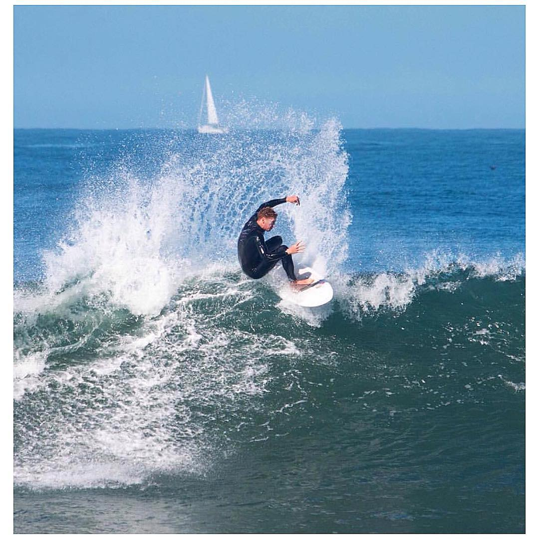 You don't have to rip like Andy to join us tonight at our SF Chapter's Monthly Meeting. Meet other ocean activists who like Andy #protectandenjoy our Ocean & Bay. 7pm Church of Surf