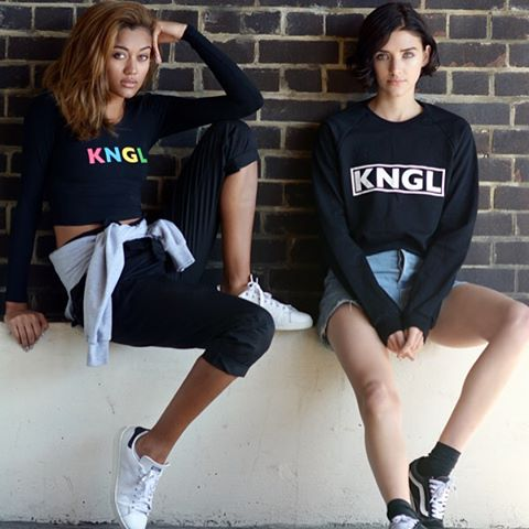 The #KNGLxTRRBL collection now available at Box Park in Shoreditch. #kangol