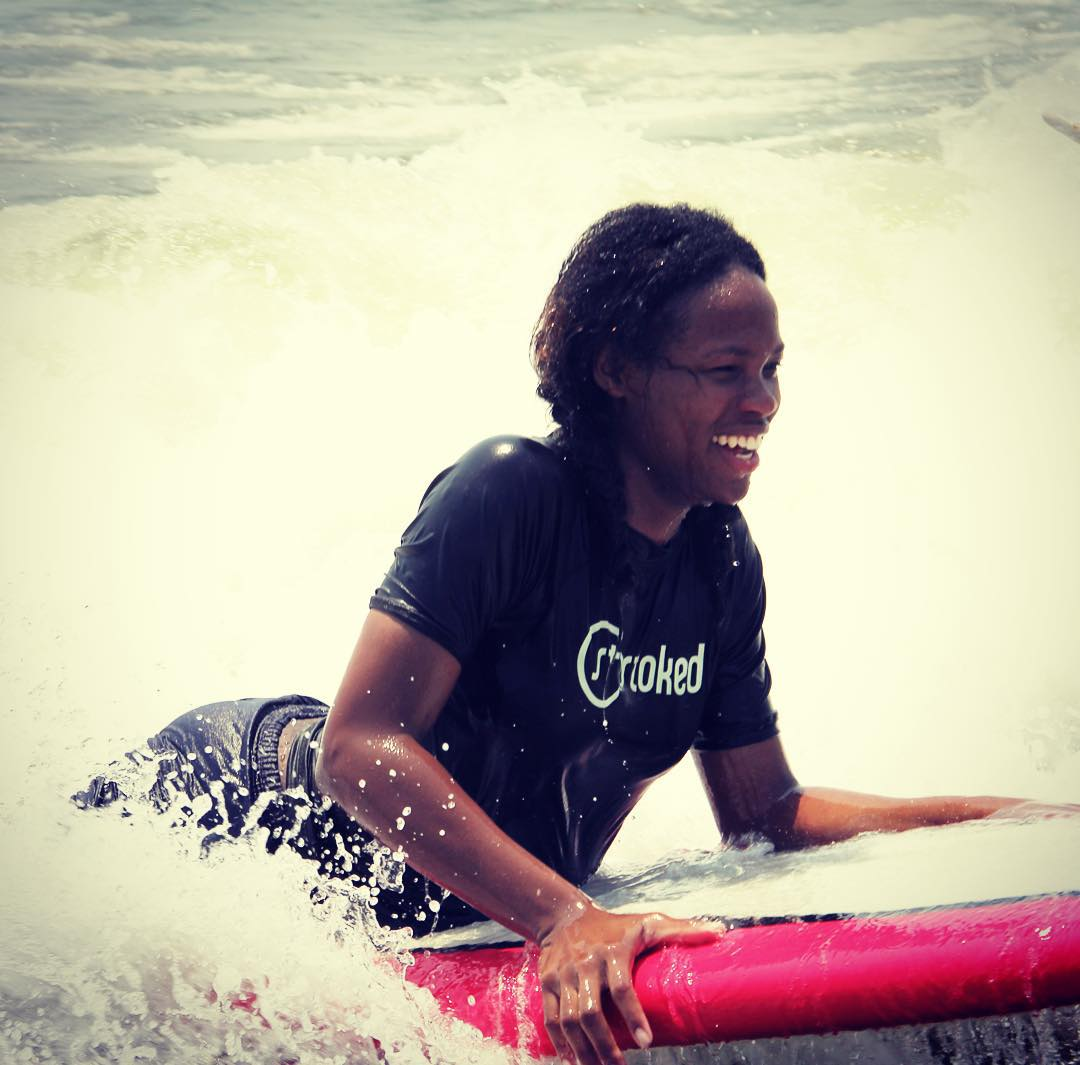 Feeling stoked from a surf session! Love those smiles.