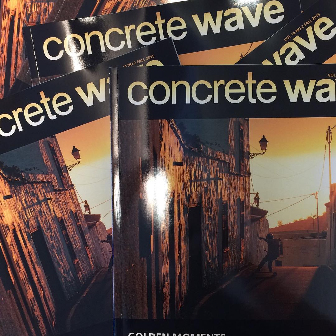 New batch of @concretewavemag just hit the #shop so we will be giving them away #free in all #complete #longboard orders while supplies last. #concretewave #longboarding #shred #downhill #fresh #freeride #skatelife #skateboarding