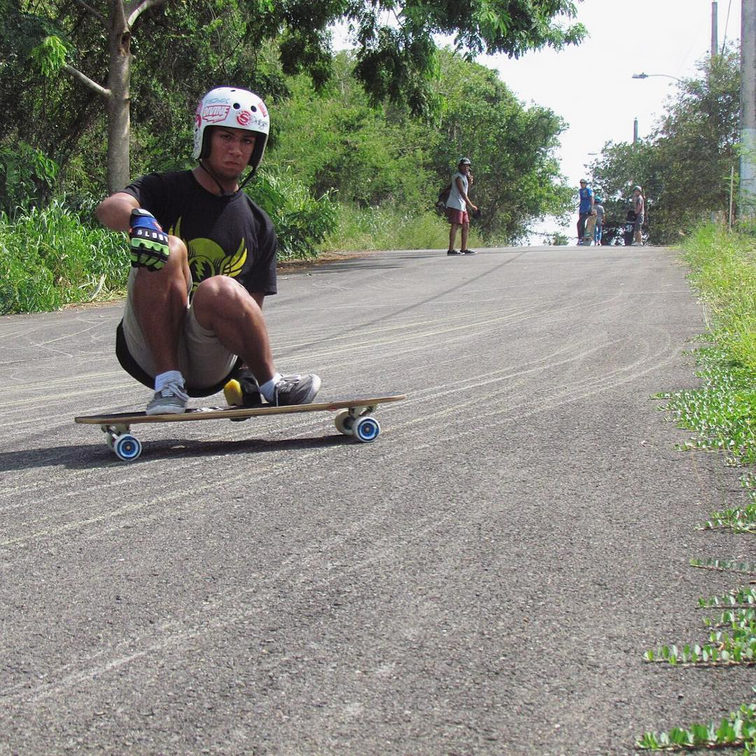 #thanelinetuesday! Is that a thing? Puerto Rican flow rider Chris Rodriguez (@bacon_rodz) gets in the spirit dumping #thane on his 82a #BERSERKERS! #GoBERSERK! #divinewheelco #divinewheels
