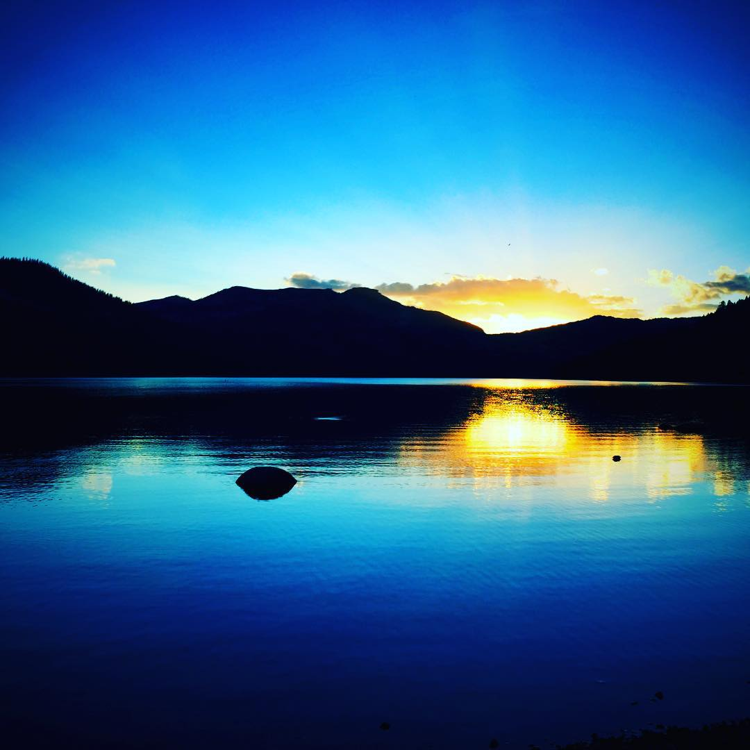 Yesterday's magic fuels the opportunities of TODAY - see you soon #ViaQuest!!! Photo: @shawnakorgan | Location: #DonnerLake, CA | Time: #LastNight | #riseandgrind | #ChoosePositivityNow.com