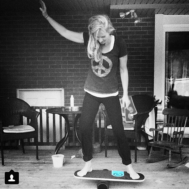 Yoga on our #101board  #revbalance #findyourbalance #balanceboards #madeinusa