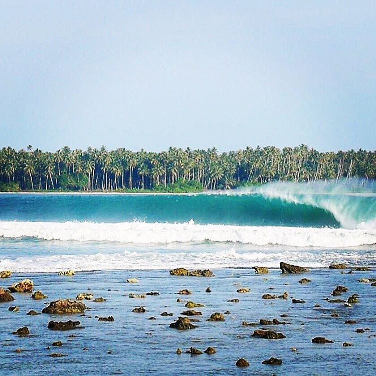 TRAVEL TO MAGICAL PLACES #adventure #waves #TravelTuesday #magic #okiino #mentawais captured by @seasachi