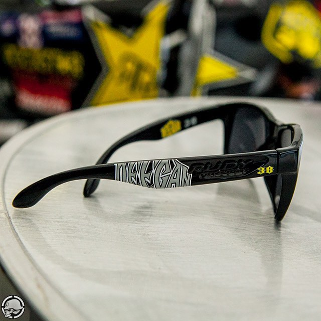 The @BrianDeegan38 @RudyProjectNA glasses #AVAILABLENOW