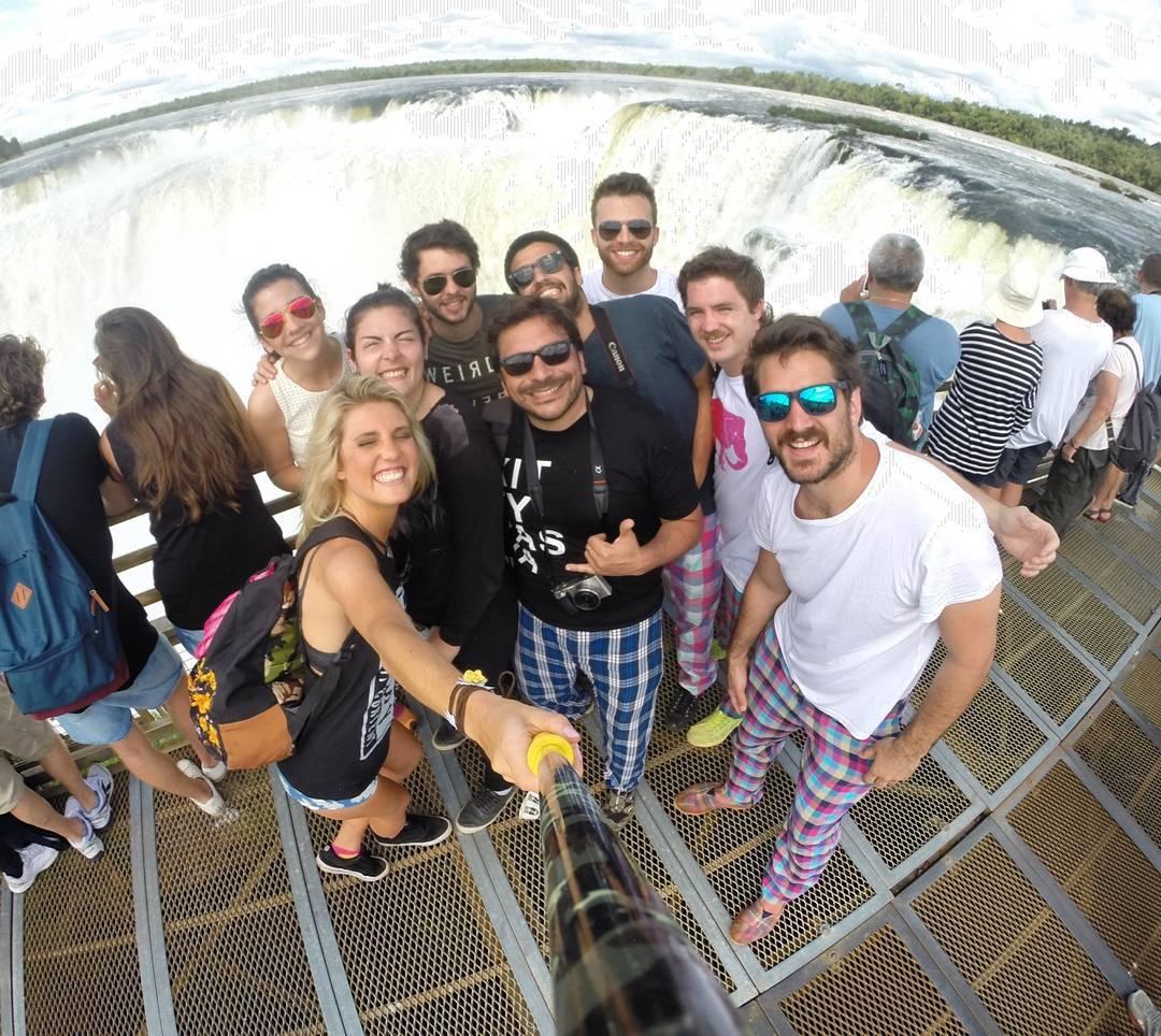 @elepantsarg con su #ZephyrPole en su nueva campaña de fotos en #Iguazu!