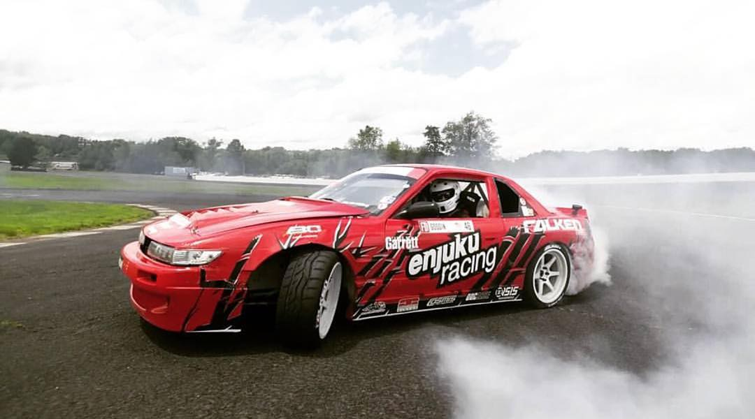 FD Irwindale is only a few days away, but for now enjoy @patgoodin's turbo v8 powered S13 shredding at @clubloose.