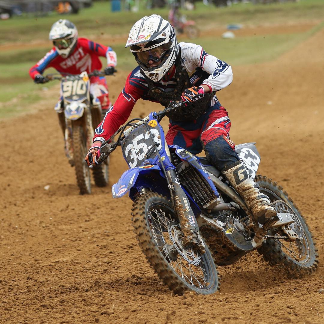 @jfrank353 shredding at reddick last weekend! Getting better with every ride #wolfmx #shred #moto #goldcups