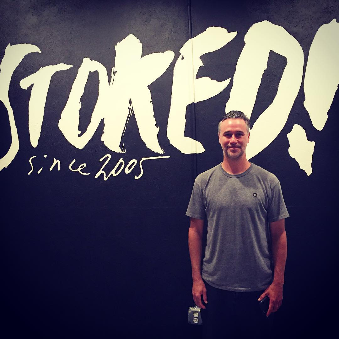 Had a great visit with @joshfriedberg  of Street League Foundation today at @stokedorg HQ