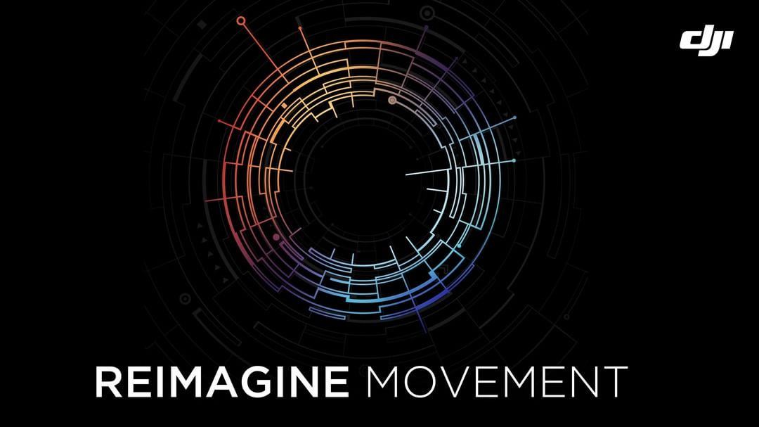 Reimagine. The basis for everything #DJI  Don't limit yourself anymore. What could this mean?  #IamDJI