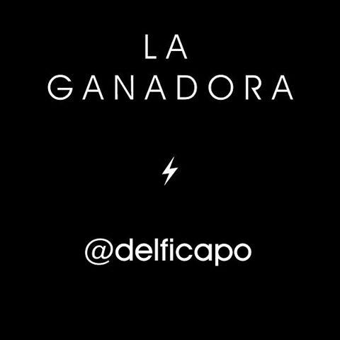 Felicitaciones @delficapo