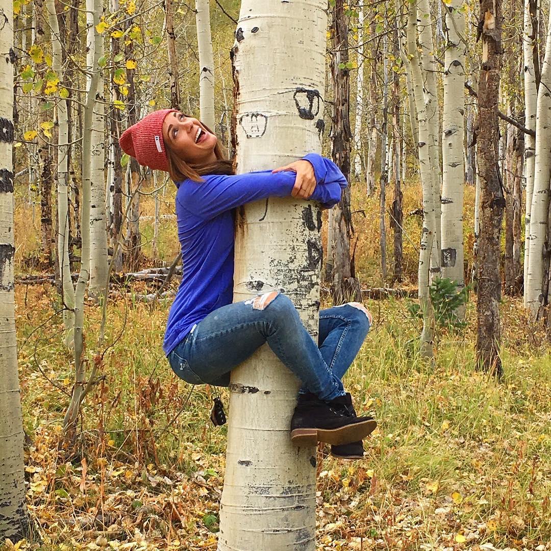 Wear a beanie. Hug a tree.  Tap link in bio to shop & save 15% using promocode 'kzbeanie15'
