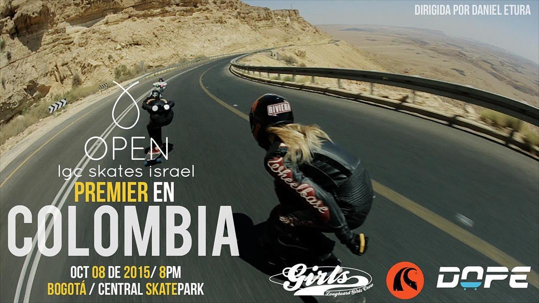 OPEN premiere en Colombia!  Mañana 8pm en el Central Skatepark de Bogota estreno de OPEN -de @danieletura- anticipando el @festivaldelabajada el proximo fin de semana.  Vamos Colombia!  #lgcopen #colombia #bogota #lgccolombia #festivaldelabajada...