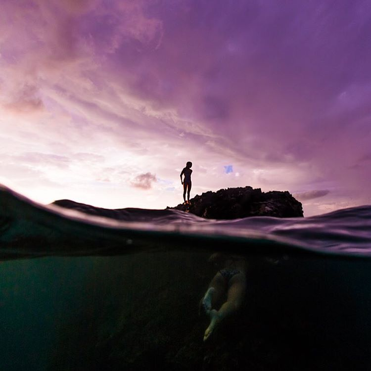 sunset swim with the sharkies  _______________________ For a limited time, get 25% off ten of my favourite photographs! All orders made between 10/6 - 10/15 will automatically be entered to win a signed 8x10 print! • code: mahalo100k •...