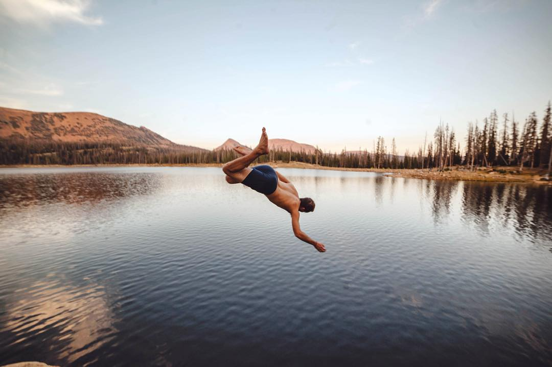 Get out there and take the plunge #LiveLifeOutside  PC: @grakozy and @rockinrakozy