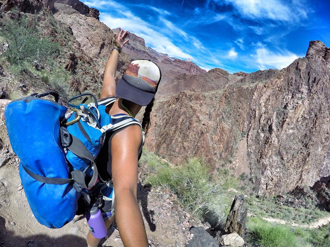 Another view from the office. This is my REAL job! #gopro @azraftadventures #grandcanyon