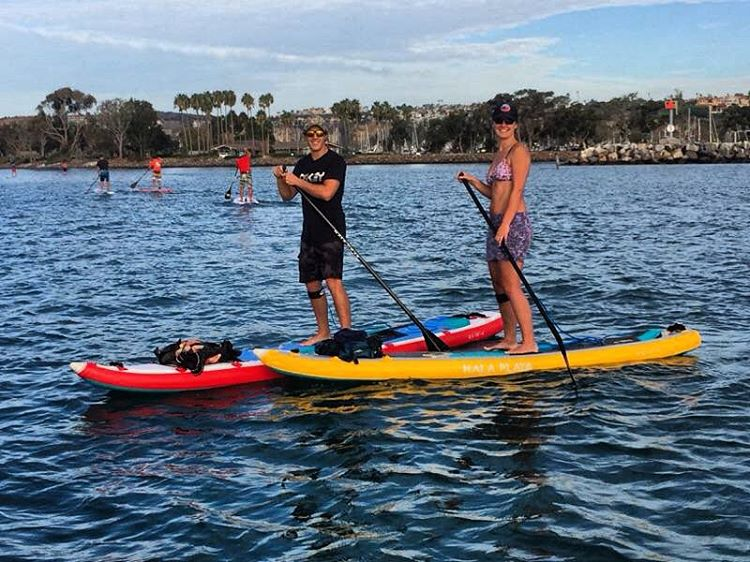 We have arrived!!!! Hala is in Dana Point, California. A great harbor paddle to start the morning. Pacific Paddle Games this weekend, come stop by the booth to say hi. #ppg2015 #adventuredesigned  #halagear #danapointyachtclub