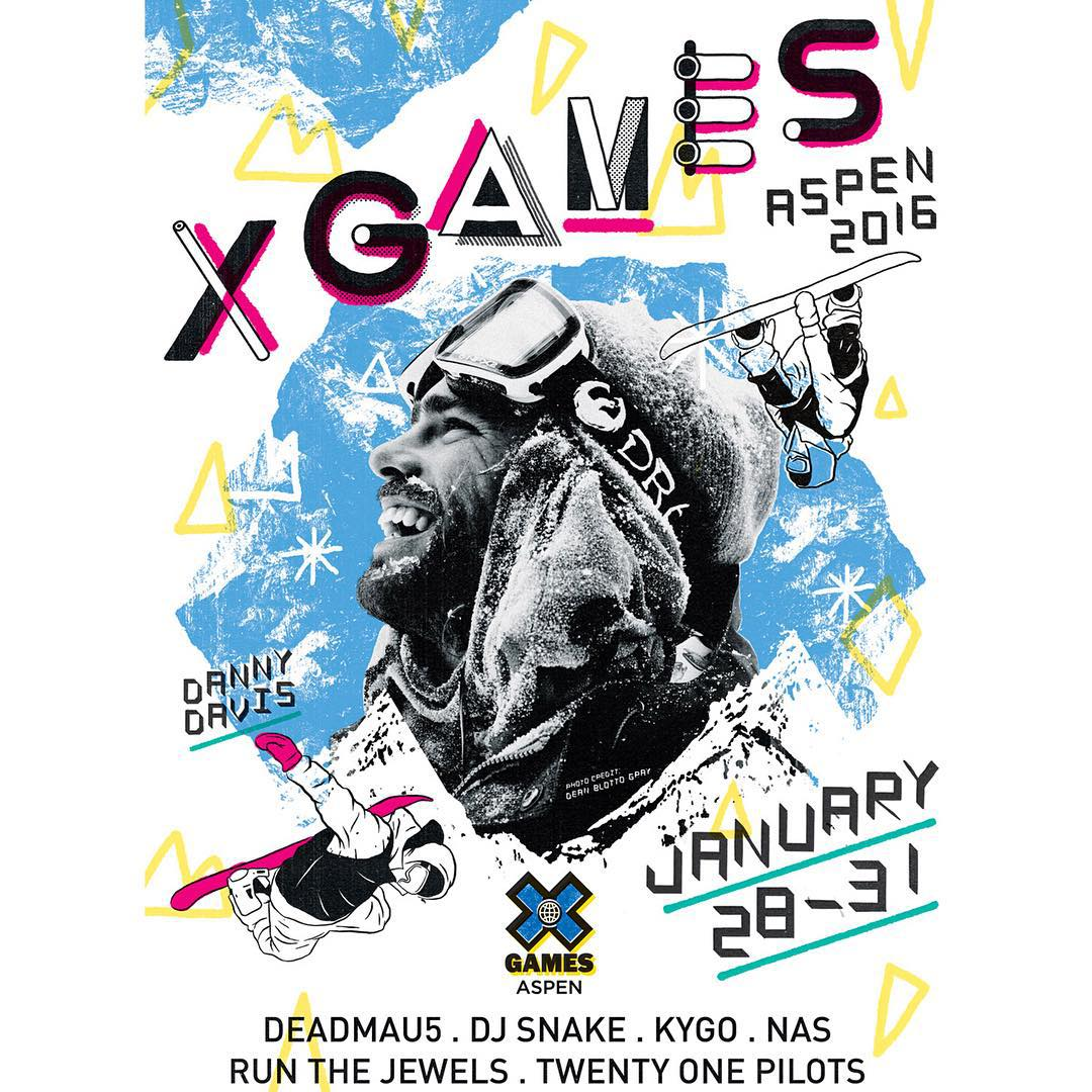 #XGames Aspen Music • @deadmau5 • @djsnake • @kygomusic • @nas • @run_the_jewelsgto • @twentyonepilots  Tickets are on sale now at XGames.com/Tickets!