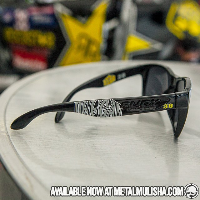 You can get the New Deegan38 shades now at metalmulisha.com