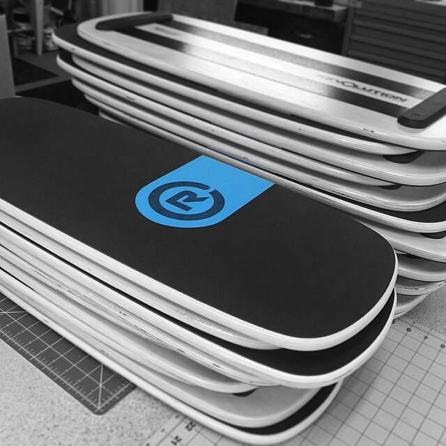 101 boards getting ready for shipment. #revbalance #findyourbalance #balanceboards #madeinusa