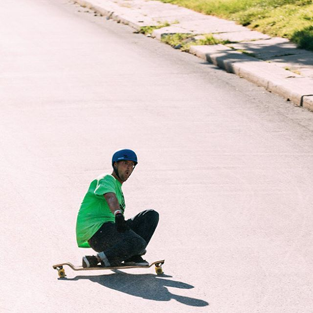 Team rider @bate_nackburn took his #paristrucks out for a rip in #KansasCity, looks like he's stoked!