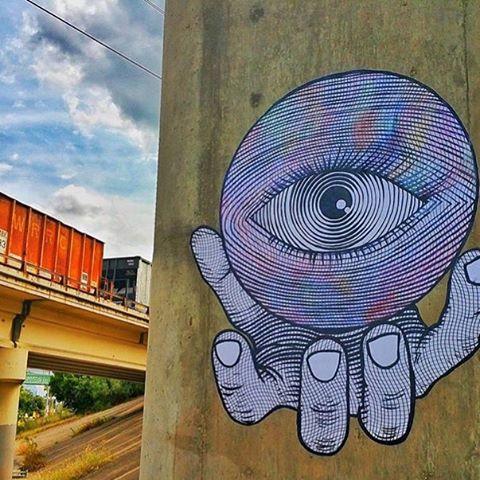 @artbygent • • #atx #austintx #texas #tx #spratx #streetart #art #wheatpaste #gent