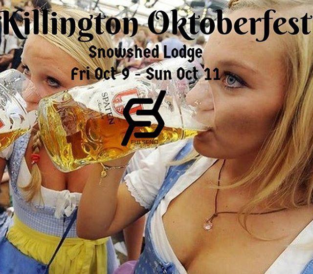 @killingtonmtn #oktoberfest starts today!!! #JustSendIt #winteriscoming #WhoaBrah #beer #vermont #skiing #snowboarding #skitheeast #thebeast @killingtonparks @darksidevt
