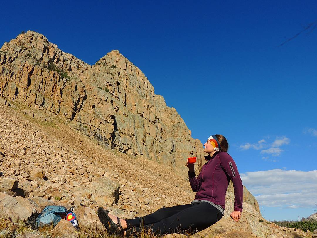 Cowboy coffee in the backcountry is one of my favorite things. After acing my psych nursing class, I think I earned some more mornings like this. Stoked for Fall Break next week and psyched to be one step closer to graduation!